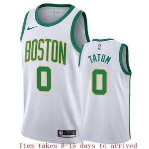 Boston Celtics Jayson Tatum City Jersey (2)